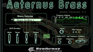 Library of Ancients (The Ancient Library) Final Fantasy V: Aeternus Brass, Syntheway Strings VST - YouTube