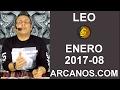 Video Horóscopo Semanal LEO  del 19 al 25 Febrero 2017 (Semana 2017-08) (Lectura del Tarot)