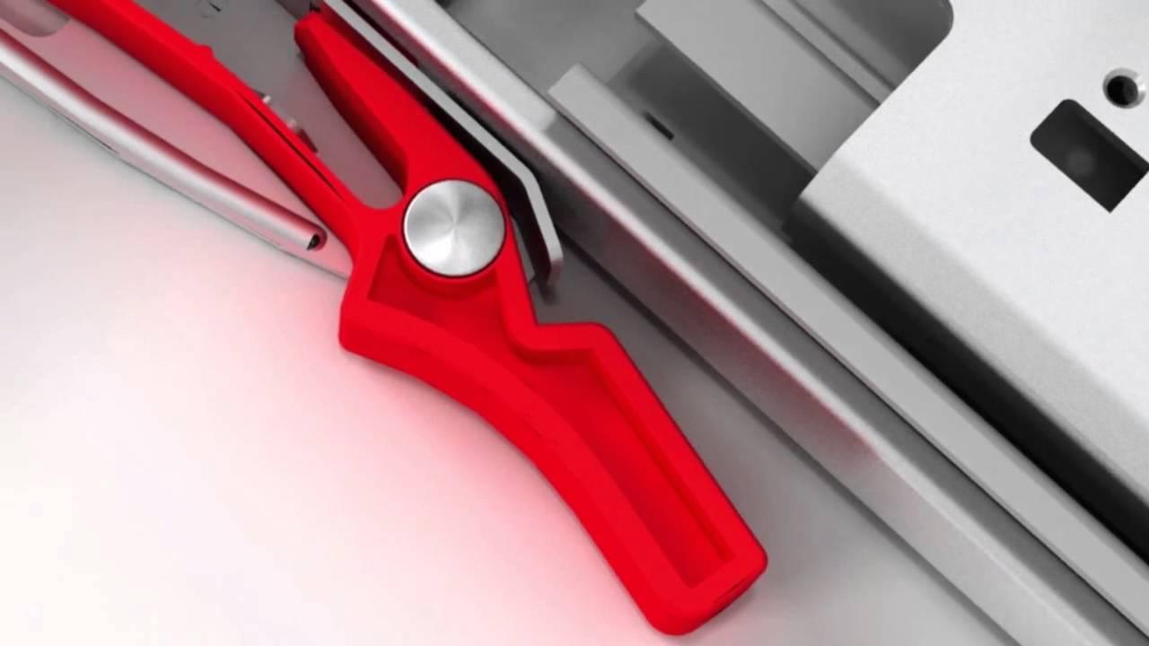 king slide installation for soft close push to open drawer slides youtube. Black Bedroom Furniture Sets. Home Design Ideas