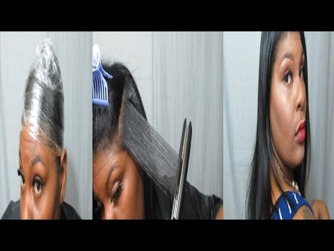Natural Hair   SILK WRAP   No Heat Damage or Reversion   Jessibaby901