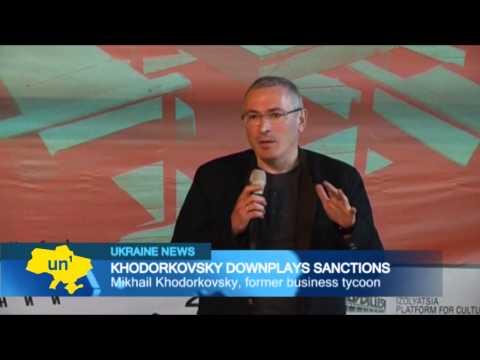 Putin opponent dismisses sanctions: Khodorkovsky says economic sanctions won't be effective