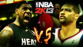 NBA 2K13 MyCareer LeBron James Vs The Ankle Bully (Full