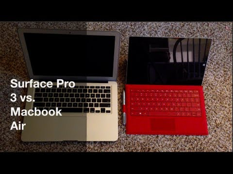 Vs. REVIEW: Surface Pro 3 Vs. Macbook Air (top 10 reasons why I like the pro 3 better)
