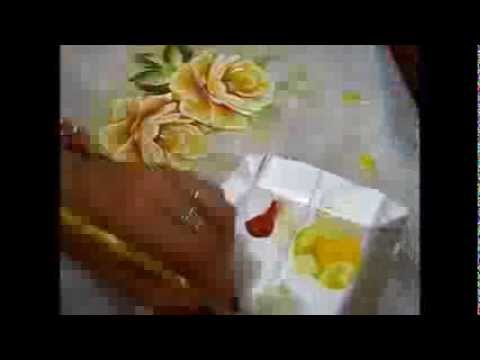 COMO PINTAR ROSAS - DVD ROSAS 1 - ARIANE CERVEIRA