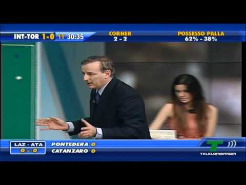 QSVS - il momento del gol di Inter - Torino 1 - 0 (TeleLombardia)