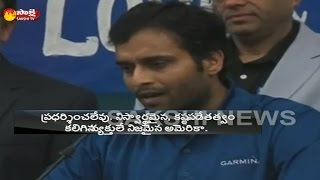 US belongs to hardworking people, says Alok Reddy, who inj..