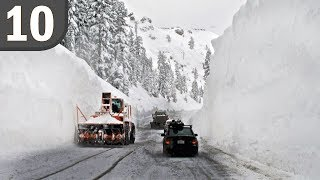 Top 10 Tallest Snowfalls Ever Recorded