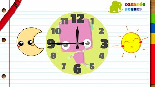 Aprender las horas del reloj para niños