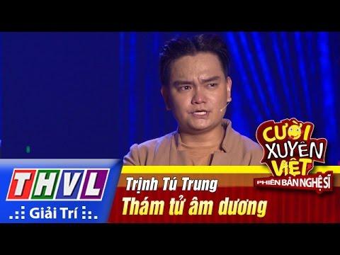 THVL | Cười xuyên Việt - PBNS 2016|Tập 6[2]: Thám tử âm dương - Trịnh Tú Trung, Happy Polla