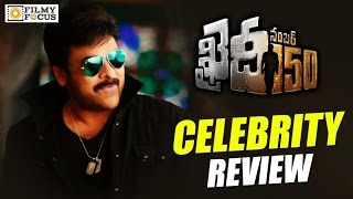Khaidi No 150 Teaser : Celebrity Tweets..