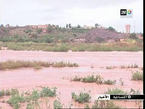 24 ملم من الأمطار تقطع محاور طرقية بوارزازات