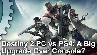 Destiny 2 - PC vs PS4 Graphics Comparison