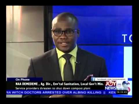 Sanitation Time Bomb - Today's Big Story on Joy News (14-5-14)