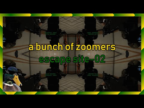 A bunch of zoomers escape site-02   SCP: Secret Laboratory Funny Moments
