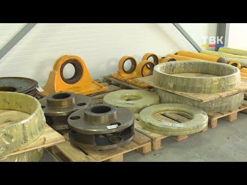 На территории «Сибирского Антрацита» открылся склад запасных частей для БелАЗов