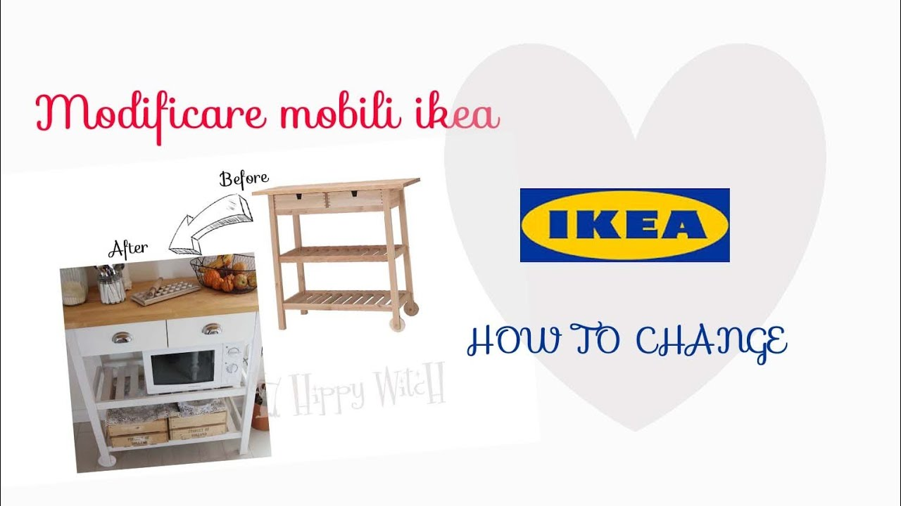 Modificare mobili IKEA Change IKEA furniture - YouTube