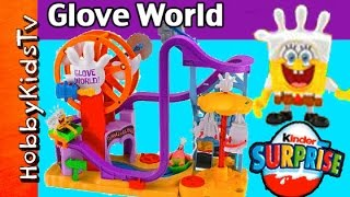 SpongeBob's Glove World Toy Review by HobbyKidsTV