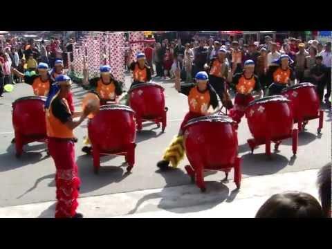 Múa Lân - Trống hội KHAI LỘC ĐẦU XUÂN 2013
