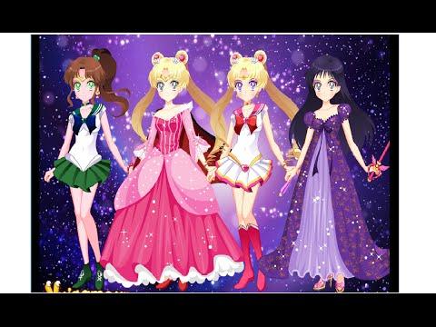 Game Thủy thủ mặt trăng biến hình - Sailor Moon