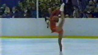 Denise Biellmann (SUI) 1980 Lake Placid, Ladies' Long