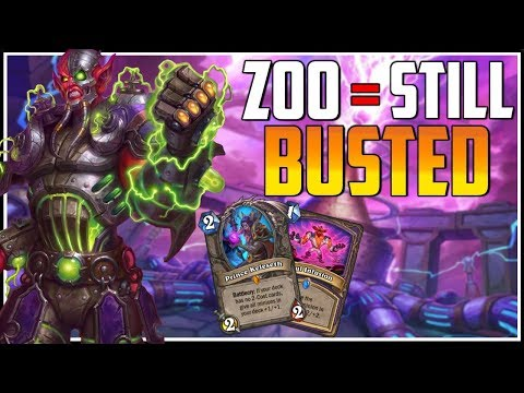 79% Win rate - I get Legend with Zoolock (The decks still Busted) - Hearthstone Livestream