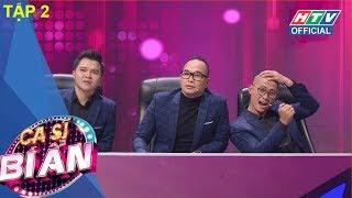 HTV CA SĨ BÍ ẨN | Bất ngờ trước giọng hát bà xã NS Chí Tài | MÙA 2 | CSBA #2 FULL | 5/3/2018