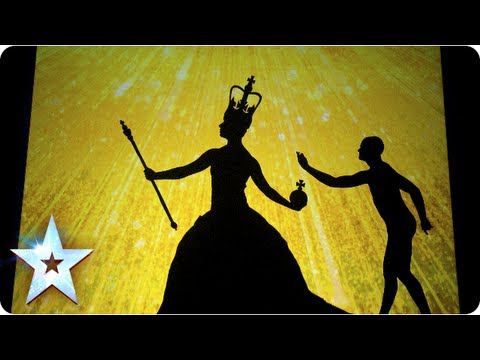 Assombroso teatro de sombras vence Britain's Got Talent 2013 | Awesome Shadow theatre wins BGT