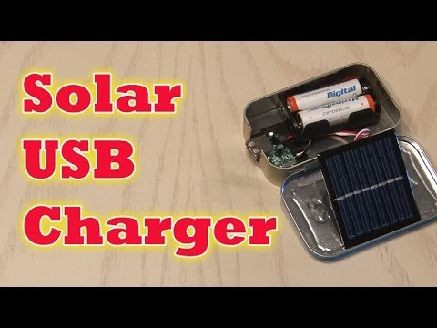 Build a Solar USB Charger!