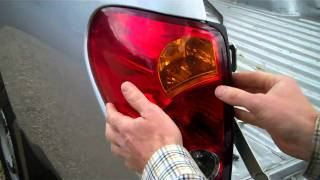 How To Change Mitsubishi L200 2005+ Rear Light
