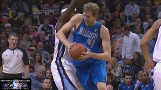 Dirk Nowitzki Offense Highlights 2013/2014 Part 2