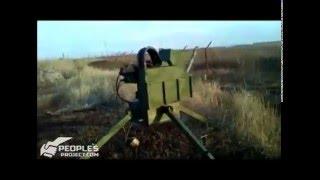 """Українські бойові турелі """"Шабля"""" на передньому плані в Авдіївці"""