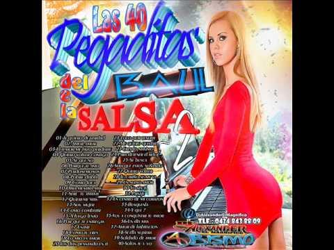 las 40 pegaditas del baul de la salsa vol dos año 2014 dj alexander el magnifico