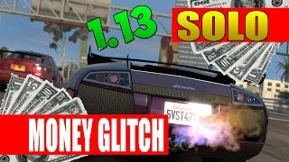 "GTA 5 Online *SOLO* ""UNLIMITED MONEY GLITCH"" AFTER PATCH"