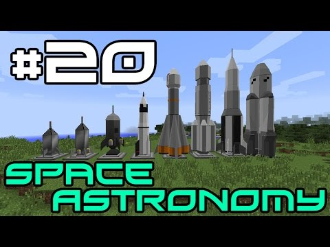 Minecraft Space Astronomy - Meteor Hunting! #20