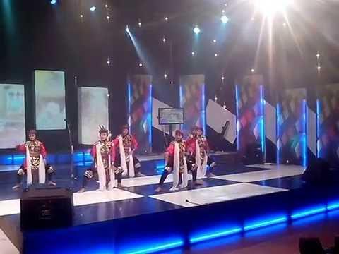 MTsN 1 Surabaya : Tari Remo dan Kipas Xpresi Kabaret TVRI