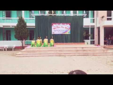 Múa quạt Hồn quê-A3K16 THPT Lục Ngạn 3