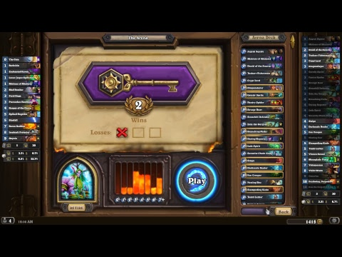 Hearthstone: Druid Legendary Arena Stream!