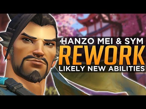 Overwatch: Hanzo, Mei & Symmetra Re-Works!! - NEW Abilities We Could Get!