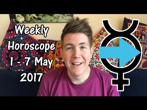 Weekly Horoscope for May 1 - 7, 2017 | Gregory Scott Astrology