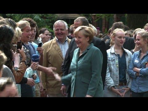 Angela Merkel: dominant force in German politics