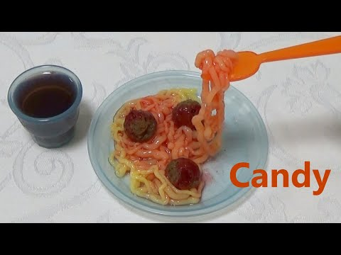 アメリカの知育菓子 Yummy Nummies #1 - Spaghetti