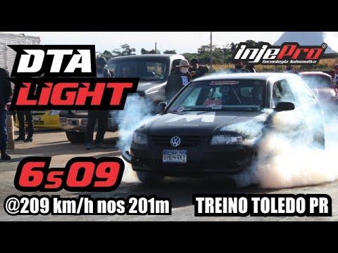 Gol Turbo DT-A de Paulson Arrosi com S8000 - Treino em Toledo, PR!