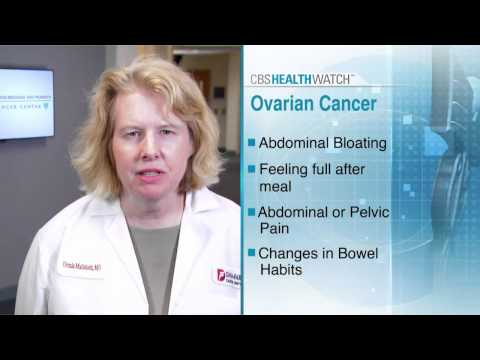 Ovarian Cancer Awareness 2013 Campaign CBS Healthwatch Spot 2