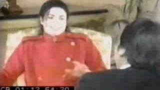 Michael Jackson nie może przestać się śmiać