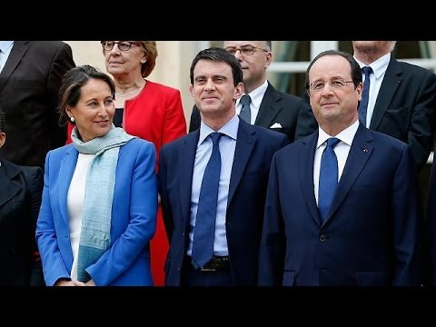 France: first meeting of new cabinet
