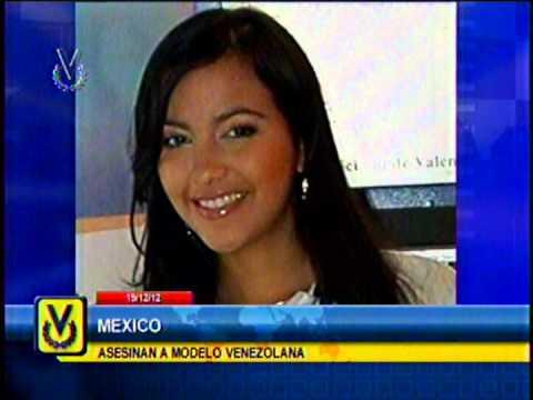 Consiguen en México el cuerpo sin vida de una modelo venezolana