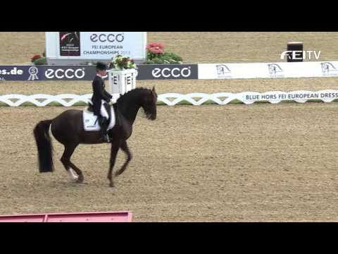 Ecco FEI European Championships 2013 - Team Dressage News