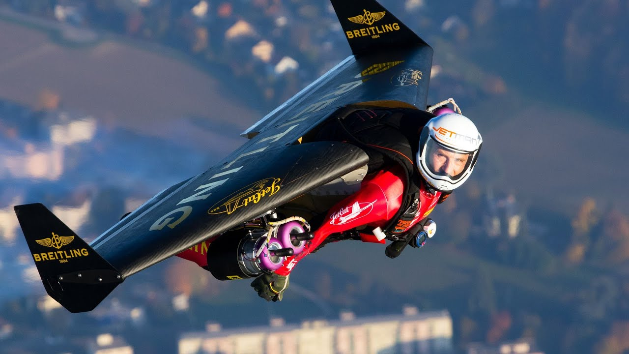 Yves Rossy Fly With The Jetman Youtube