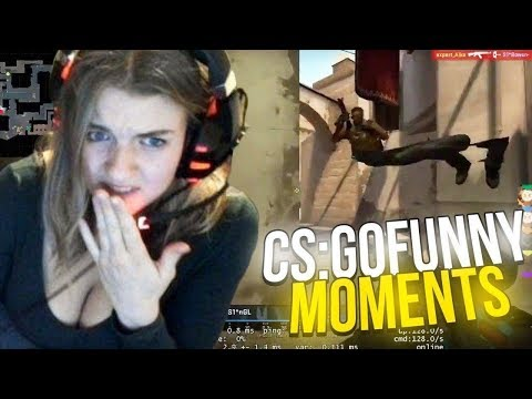 CSGO TWITCH AND PRO FUNNY MOMENTS