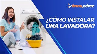 Instalar una lavadora